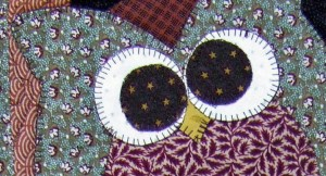 quilt pattern design What a Hoot, owl quilt pattern by babs 'n' jas designs.